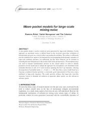 Wave-Packet Models for Large-Scale Mixing Noise - Tim Colonius