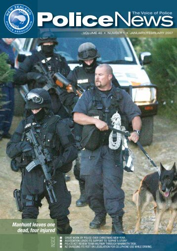 Police News Jan/Feb 07.indd - New Zealand Police Association