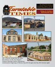 April-May-June 2012 - Roanoke Chapter National Railway Historical ...