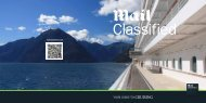 YOUR GUIDE TO CRUISInG - Mail Classified