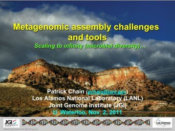 Metagenomic assembly challenges and tools - Ontario Genomics ...