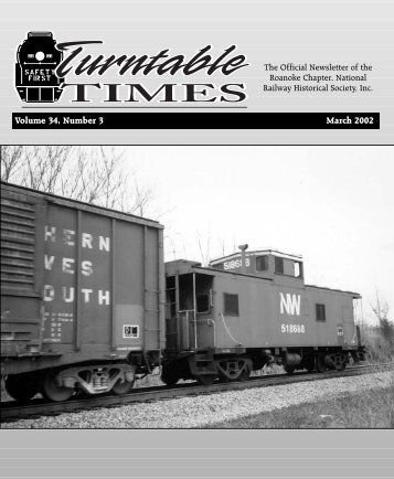 March 2002 - Roanoke Chapter National Railway Historical Society