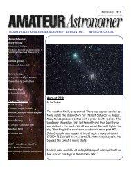 September 2011 - Miami Valley Astronomical Society