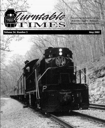 November 2002 - Roanoke Chapter National Railway Historical ...