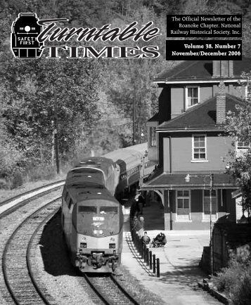 November/December 2006 - Roanoke Chapter National Railway ...