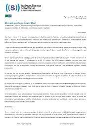 Mercado público e sustentável - ABH