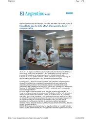Importante aporte de la UNLP al desarrollo de un nuevo satélite