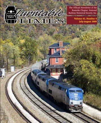 July-August 2009 - Roanoke Chapter National Railway Historical ...