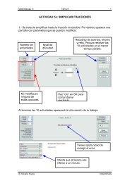 ACTIVIDAD 5a: SIMPLICAR FRACCIONES 1.- Se ... - Vicens Vives