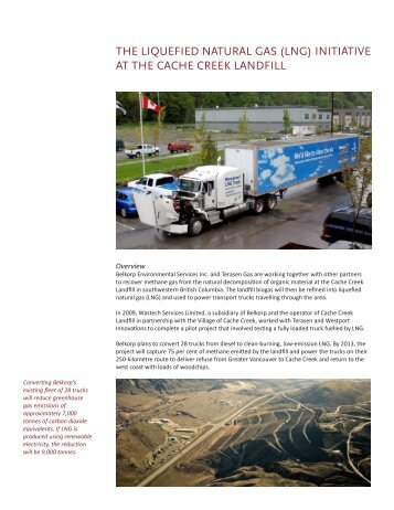 THE LIQUEFIED NATURAL GAS (LNG) INITIATIVE AT ... - Wastech
