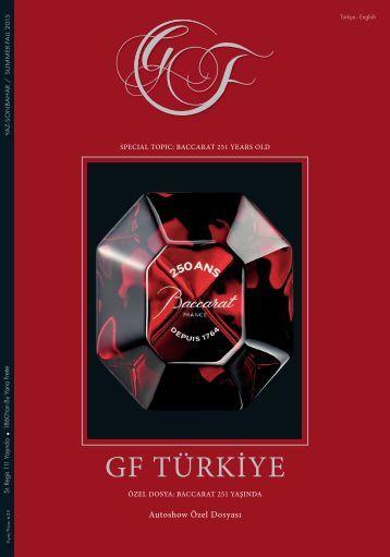 GF - Genuss + Feinsinn Edition Turkiye for connaisseurs Summer/Fall 2015