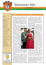Sebastianer Info Juli 2015