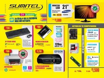 Catálogo Sumitel | Back 2 School 2015
