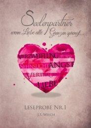 Seelenpartner - wenn Liebe alle Grenzen sprengt LESEPROBE No.1