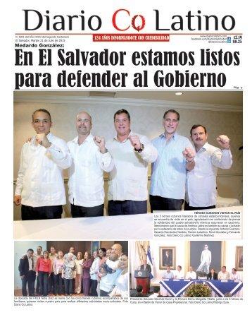 Edición 21 de Julio de 2015