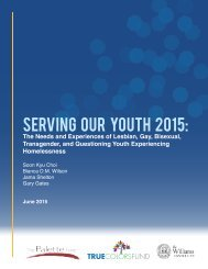 Serving Our Youth 2015: The Needs and Experiences of Lesbian, Gay, Bisexual, Transgender, and Questioning Homelessness
