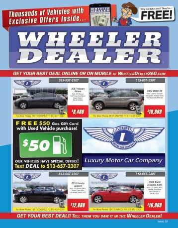 Wheeler Dealer 30-2015
