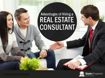 Experienced Real Estate Consultant in Yangon