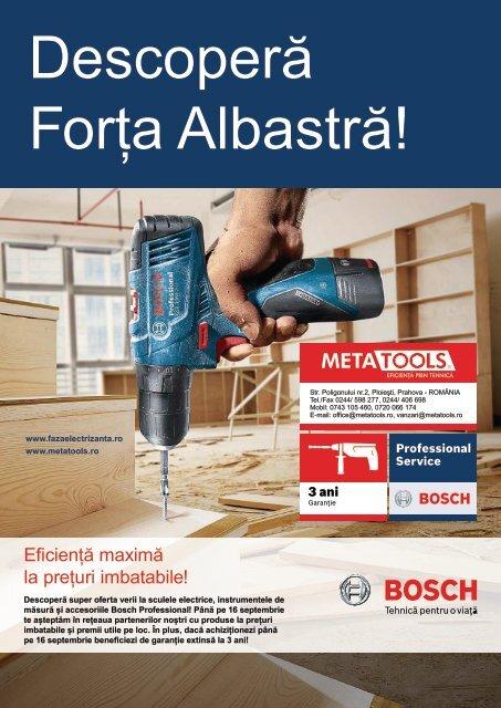 Descoperă super promoția verii cu Bosch și Metatools!