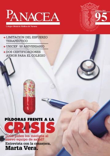 Descargar revista número 95 - Colegio oficial de Medicos de Navarra