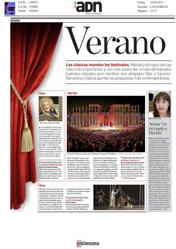 Revista de Prensa - Publiescena