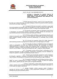 lei nº 3.708, de 10 de dezembro de 2012. - Prefeitura Municipal de ...