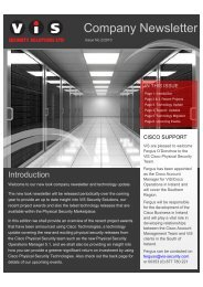 Company Newsletter - VIS Security