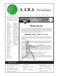 April 06 Newsletter - Asian American Bar Association of the Greater ...