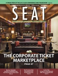 the corporate ticKet marKetplace - ALSD