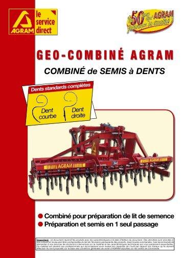 GEO-COMBINÉ AGRAM