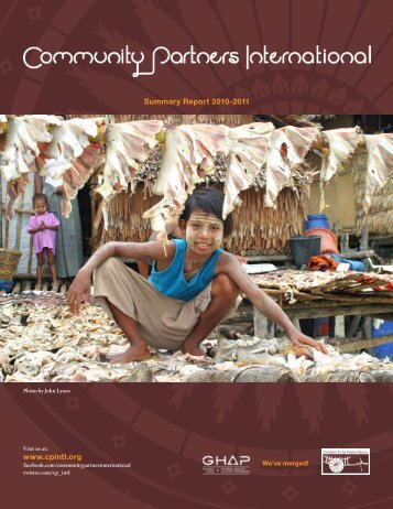 CPI Annual Report 2010-11 - Community Partners International