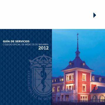 Guía de Servicios - Colegio oficial de Medicos de Navarra