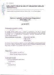Zpráva o výsledku přezkoumání hospodaření - Mnichov