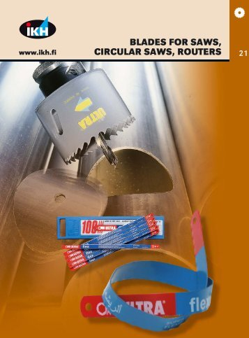 BLADES FOR SAWS, CIRCULAR SAWS, ROUTERS - banope.sk