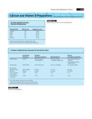 Calcium and Vitamin D Preparations