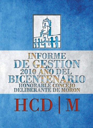 Dirección de Comunicación Institucional - HCD Morón