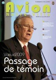N o t r e V i l l e Vœux2009 - Avion