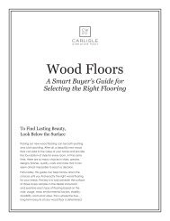 Wood Floors - Carlisle Wide Plank Floors