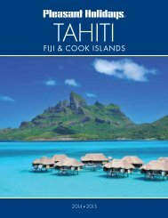 fiji & cook islands - Pleasant Holidays