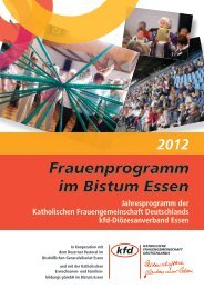 Frauenprogramm im Bistum Essen - St. Peter und Paul - Bistum Essen
