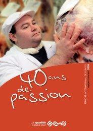 rapport annuel 2009 - Marché de Rungis