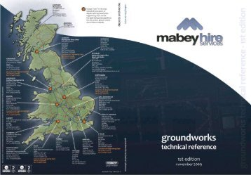 Groundworks Tech Ref Guide - Mabey Hire