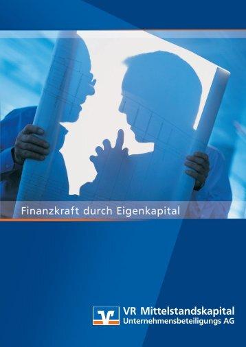 VR Mittelstandskapital Informationsbroschüre (pdf ... - WGZ Bank