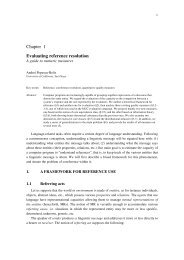Chapter 1 Evaluating reference resolution - Andrei Popescu-Belis