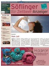 Söflinger Zeitbeer-Anzeiger vom Juni 2011 (PDF 13,1 MB)