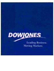 Dow Jones Prospectus - DRIP Investor