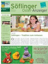 Söflinger Oster-Anzeiger vom 2009 (PDF 11,5 MB)