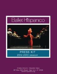 Click here download the 2012-2013 press kit. - Ballet Hispanico