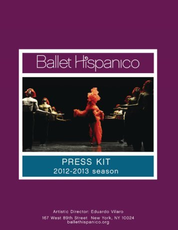Click here download the 2012-2013 press kit. - Ballet Hispanico