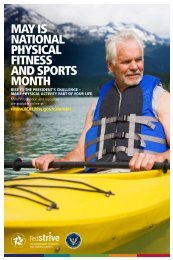 National Physical Fitness and Sports Month 24 x 36 inch Poster